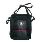 LACARLA Shicata Tas Gaul Tablet [4-2898] - Black Red - Shoulder Bag Pria