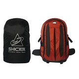 LACARLA Shicata Tas Semi Carrier Cover [7-2965] - Black Brown - Tas Carrier / Rucksack