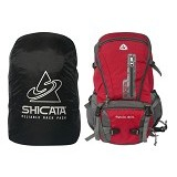 LACARLA Shicata Tas Semi Carrier Cover [7-2999] - Grey Red - Tas Carrier / Rucksack