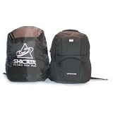 LACARLA Tas Ransel Laptop Raincoat [8-2896] - Black - Notebook Backpack