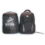 LACARLA Tas Ransel Laptop Raincoat [8-2940] - Black Grey - Notebook Backpack