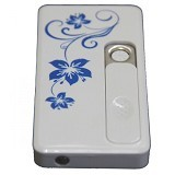 LACARLA USB Electric Lighter - White - Korek Api / Lighter Fashion