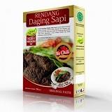 PESONA NUSANTARA Laziz Rendang Daging Sapi No Chili 150gr [CGK010022004242] (Merchant) - Box & Kalengan Daging