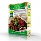PESONA NUSANTARA Laziz Rendang Jamur Tiram 150gr [CGK010022004237] (Merchant) - Box & Kalengan Sayuran