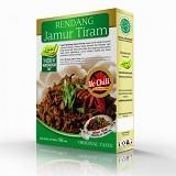 PESONA NUSANTARA Laziz Rendang Jamur Tiram No Chili 150gr [CGK010022004239] (Merchant) - Box & Kalengan Sayuran