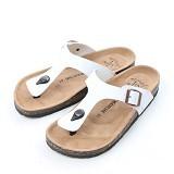 LE MARCHE Sandal Montpellier Elegant Size 43 - White (Merchant) - Sandal Casual Pria