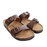 LE MARCHE Sandal Nantes Classic Size 39 - Brown (Merchant) - Sandal Casual Pria