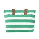 LE SAC Carribean Totes - Green (C) - Tote Bag Wanita