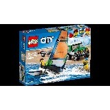 LEGO City 4x4 with Catamaran [60149] (Merchant) - Building Set Transportation