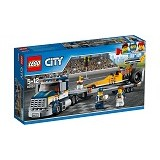 LEGO City Dragster Transporter [60151] (Merchant) - Building Set Transportation