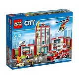LEGO City Fire Station [60110] - Building Set Architecture