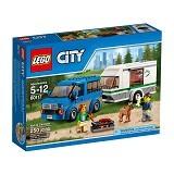 LEGO City Van & Caravan [60117] - Building Set Transportation