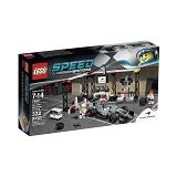 LEGO Speed Champions McLaren Mercedes Pit Stop [75911] - Building Set Transportation