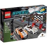 LEGO Speed Champions Porsche 911 GT Finish Line [75912] - Building Set Transportation