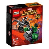 LEGO Super Heroes Mighty Micros: Hulk vs Ultron [76066] - Building Set Movie