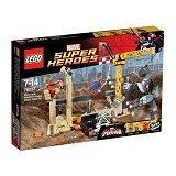 LEGO Super Heroes Rhino and Sandman Super Villain Team-up [76037] - Building Set Movie