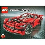 LEGO Technic Super Car [8070] (Merchant) - Building Set Transportation