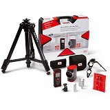 LEICA GEOSYSTEMS Disto D210 and Lino L2 Case Package with Tripod - Meteran Digital