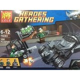 LELE Batman vs Superman Kryptonite Interception (Merchant) - Building Set Transportation