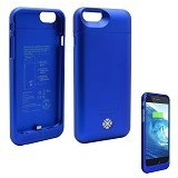 LENMAR Maven Battery Case for iPhone 6 [BC6B] - Blue - Portable Charger / Power Bank