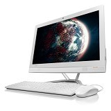 LENOVO IdeaCentre AIO300 Non Windows [F0BY002AID] - White (Merchant) - Desktop All in One Intel Core I5