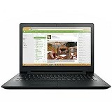 LENOVO IdeaPad 110-14AST Non Windows - Black (Merchant) - Notebook / Laptop Consumer Amd Quad Core
