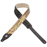 LEVYS Leathers Metallic Cotton Guitar Strap [MT8MC-003] - Gitar Pin Strap