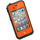 LIFEPROOF Case for Apple iPhone 4S/4 - Orange/Black - Casing Handphone / Case