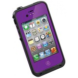 LIFEPROOF Case for Apple iPhone 4S/4 - Purple/Black - Casing Handphone / Case