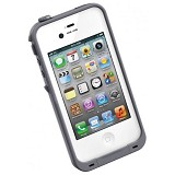LIFEPROOF Case for Apple iPhone 4S/4 - White/Gray