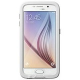 LIFEPROOF Fre for Samsung Galaxy S6 - Avalanche (Bright White/Cool Gray) - Casing Handphone / Case
