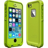 LIFEPROOF Apple iPhone 5/5S Fre Case - Dark Lime/Lime - Casing Handphone / Case