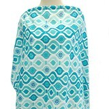 LIL DOT Nursing Cover Teal Pattern [2120244-12] - Breast Care