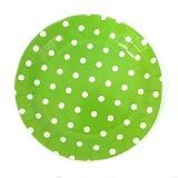 LIL DOT Paper Dot Plate 12pcs [1010025-01] - Lime