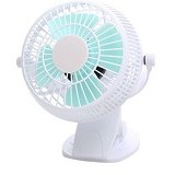 LILENG USB Fan [835] - White - Kipas Angin Meja