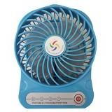 LILENG USB Fan Super Win [F-02] - Blue - Kipas Angin Meja