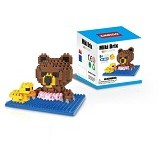 LINKGO Bear n Rubber Duck [9615] - Building Set Fantasy / Sci-Fi