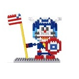LINKGO Doraemon As Captain America [9621] - Building Set Movie