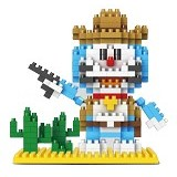 LINKGO Doraemon Cowboy [9618] - Building Set Movie