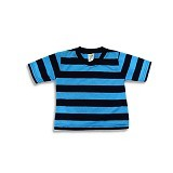 LITTLE REBELS Toddler Tee Stripe 12/18 M - Blue - Baju Bepergian/Pesta Bayi dan Anak
