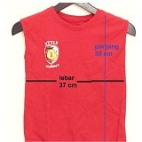 LITTLE SU ONLINE SHOP Oblong Little Academy for Kids All Size - Red - Baju Bepergian/Pesta Bayi dan Anak