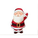 LITTLEKEZI SHOP Pillow dolls Santa Claus (Merchant) - Bantal Dekorasi