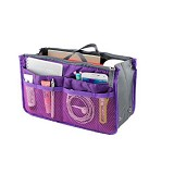 LN SHOP Bag In Bag - Purple - Travel Bag