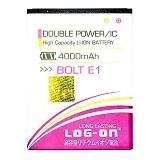 LOG ON BOLT Power Phone E1 4G LTE Battery  [LOGBATTBOLT-E1]