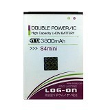 LOG ON Samsung S4 Mini I9190 Battery [LOGBATTSAM-S4MINI-I9190] - Handphone Battery