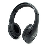 LOG ON InTone Stereo Headphones Headset With Microphone [LO-NB-680] - Black (Merchant) - Headphone Portable