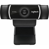 LOGITECH C922 Pro Stream Webcam [960-001087] - Web Cam Clip-On