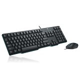 LOGITECH Keyboard K100 + Mouse B100 (Merchant) - Keyboard Mouse Combo