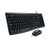 LOGITECH Keyboard Mouse [MK200] - Keyboard Mouse Combo