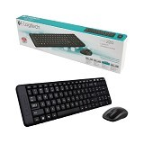 LOGITECH Keyboard Wireless MK220 - Keyboard Mouse Combo